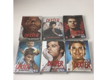 DVD VIDEO, TV-serier, Dexter