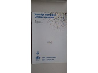 OLYMPIC MESSAGE NO. 8 1984