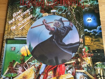 Iron Maiden Bring your Daughter to the Slaughter pic Disc bilskiva
