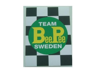 Team BeePee Sweden Dekal Big.