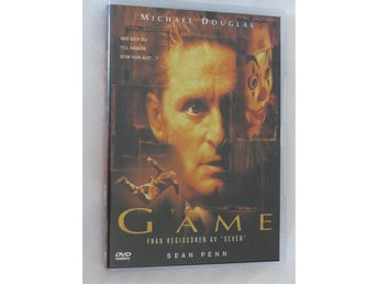 THE GAME 1997 Michael Douglas  SVENSK TEXT FINT SKICK UTGÅTT