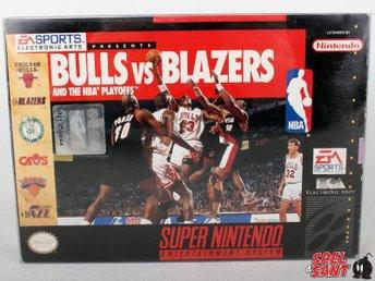 Bulls Vs Blazers And The NBA Playoffs (inkl. Skyddsbox & Amerikanskt Version) - Norrtälje - Bulls Vs Blazers And The NBA Playoffs (inkl. Skyddsbox & Amerikanskt Version) - Norrtälje