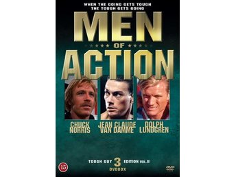 Men of Action / Action Heroes Vol II (3 DVD) Ord Pris 99 kr SALE - Nossebro - Men of Action / Action Heroes Vol II (3 DVD) Ord Pris 99 kr SALE - Nossebro