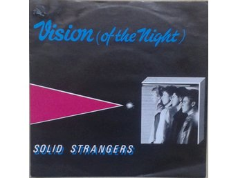 "Solid Strangers title* Vision (Of The Night)* Disco,Synth-pop 7"" Germany"