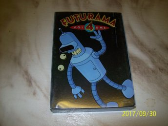Futurama - Säsong 4 Box (4-disc)