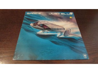 SPACE - JUST BLUE - LP - 1978 - BLÅ VINYL - SYNTH / ELECTRONIC