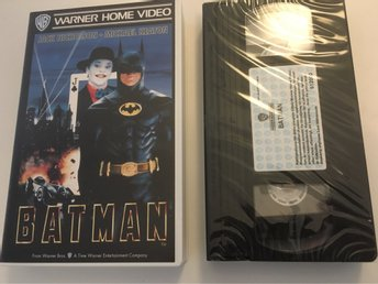 Batman (Tim Burton) (VHS) *Warner Home Video