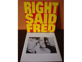 Right Said Fred: Up. 1992 LP. Europop, Synth-pop, Disco