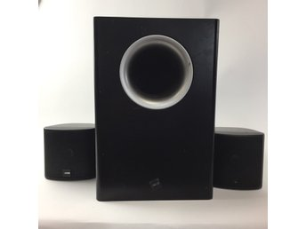 Canton, Högtalare, Canton powered subwoofer, plus XS, Svart