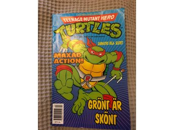 Tidning turtles nr 4 - 1991