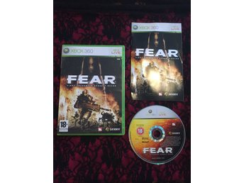 FEAR: First Encounter Assault Recon Xbox360 komplett begagnat