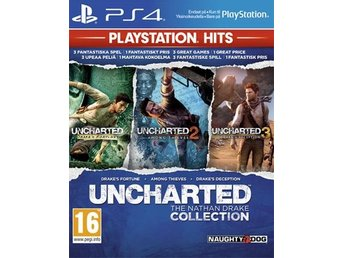 Uncharted collection - HITS (PS4)