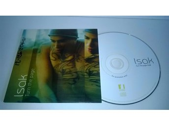 Isak - Turn the page, single CD, promo