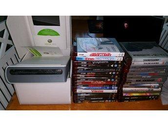 BOXAD HD DVD XBOX 360 MED 30 FILMER FINT SKICK RARE !! - Kramfors - BOXAD HD DVD XBOX 360 MED 30 FILMER FINT SKICK RARE !! - Kramfors