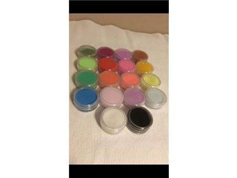 Akryl paket SVERIGE snabb leverans! Färgpulver akrylpulver pulver glitter färg - Arvika - Akryl paket SVERIGE snabb leverans! Färgpulver akrylpulver pulver glitter färg - Arvika