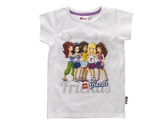 LEGO FRIENDS, T-SHIRT, VIT (134)