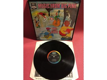 THE BAND - MUSIC FROM BIG PINK UK 1ST PRESS
