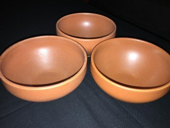 Höganäs Collection 3 st frukostskålar / skålar (terracotta / sienna) - Göteborg - Höganäs Collection 3 st frukostskålar / skålar (terracotta / sienna) - Göteborg