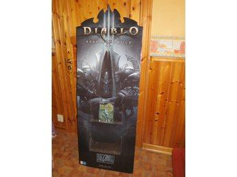 Promo display stand Diablo Reaper of Souls reklamställ rare!