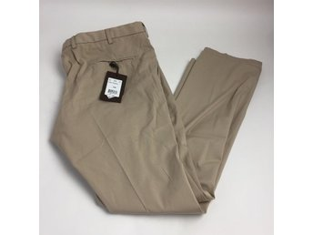 Oscar Jacobson, Chinos, Brent Trousers, Strl: 108, Beige, Skick: Nytt