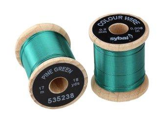 Colour Wire - 0.2 mm - Pine Green - Umeå - Colour Wire - 0.2 mm - Pine Green - Umeå