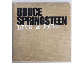 Bruce Springsteen - Live and Rare cd promo singel