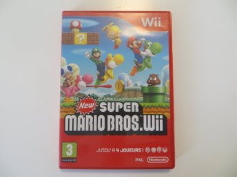 NEW SUPER MARIO BROS / Nintendo Wii / PAL