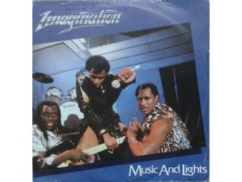 "Imagination title* Music And Lights* Disco, Synth-pop 7"" France"