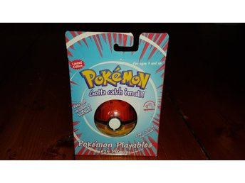 Pokémon Playables. Pokéball Pikachu. Limited edition. 1999. Nintendo