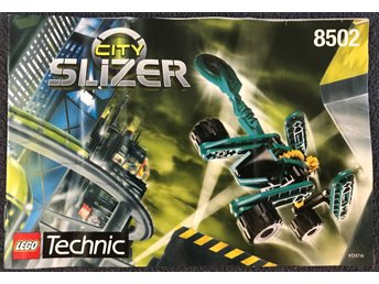 LEGO Technic Slizer 8502 (City) - Manual