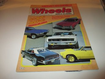 Wheels Rod & Classic Nr 12 1983 80-talets Hot Rods Muskelbil
