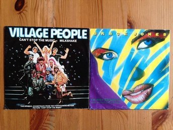 2st. Singlar med Village People & Grace Jones