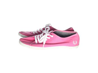 Fred Perry, Sneakers, Strl: 41, Rosa/Vit