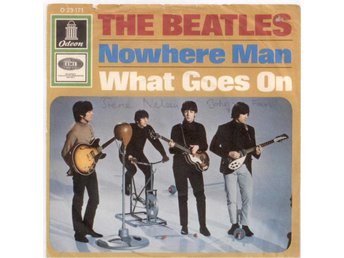 "BEATLES - Nowhere Man  7"" Singel  Tyskland"