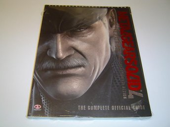 Metal Gear Solid 4 Spelguide Guide *NYTT*