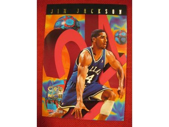 JIM JACKSON - CRUNCHERS - SKYBOX NBA HOOPS 1995 - BASKET