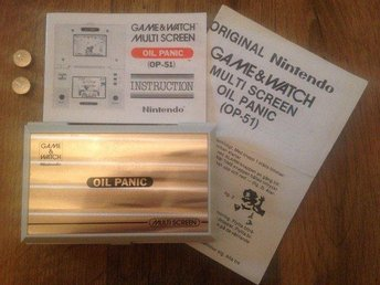 Oil Panic Nintendo game & watch