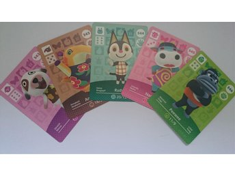 Animal Crossing Amiibo Cards series 4 Nr 342 - 346