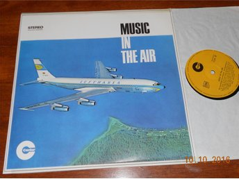 DIE MONTE-NEGRO'S - Music in the air, Lufthansa /Center LP Tyskland Lounge
