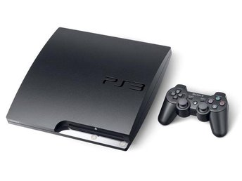 - Playstation 3 Slim 120GB Inkl. 1 HK + 20% Rabatt på Spel! -