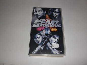 2 Fast 2 Furious  -  VHS