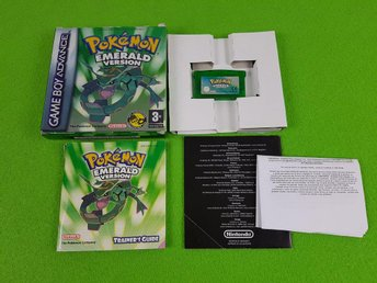 Pokemon Emerald Version KOMPLETT  GBA Gameboy Advance