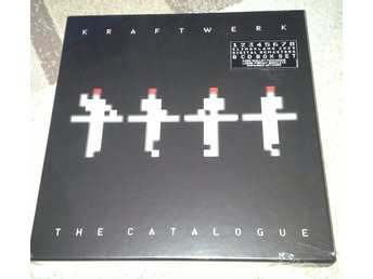 Kraftwerk The Catalogue 8 CD-box oöppnad!