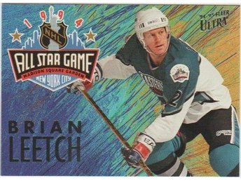 ULTRA 94-95 All Star Game # 02 LEETCH Brian