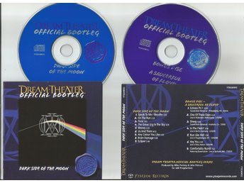 DREAM THEATER - Dark Side Of The Moon/ A Saucerful Of Floyd (2CD) live