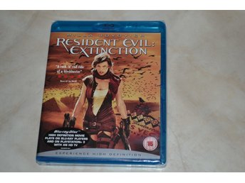 Resident Evil Extinction (2007) Film Bluray Nyskick
