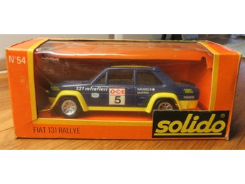 Solido Fiat 131  Rallye Made in France