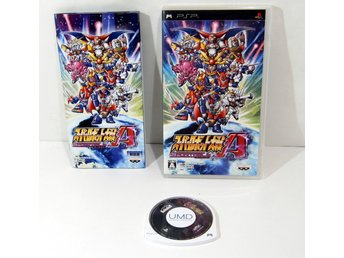 Super Robot Taisen A till PSP playstation portable