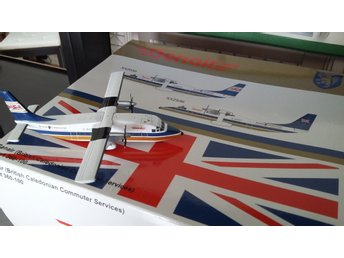 1:200 metal model-airplane, Short 360-100 British Caledonian Commuter - MINT -