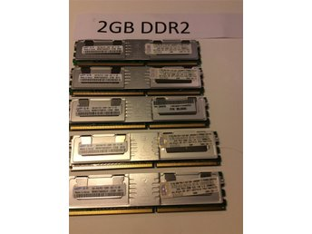Server minne 2GB DDR3 5st total  10GB